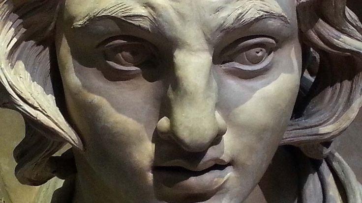 """Alessandro Magno"" by Vincenzo Gemito (1920-25) #AlexanderTheGreat GNAM (Galleria Nazionale d'Arte Moderna / National Gallery of Modern Art), Rome, Italy September 16, 2014"