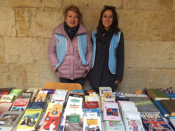Mercadillo de libros solidario con ASCOL 26,27 y 28 de abril de 2017