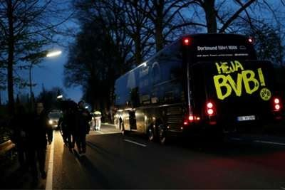 """Police have found a letter claiming responsibility for what they are describing as a """"targeted attack"""" on the Borussia Dortmund team bus.  The vehicle was damaged as three explosions occurred while the coach was making its way from the team hotel in the Hochsten area of Dortmund to Signal Iduna Park for the Champions League quarter-final first leg with Monaco.  Defender Marc Bartra was injured in the incident with the club later confirming that he had been taken to hospital to have surgery…"""