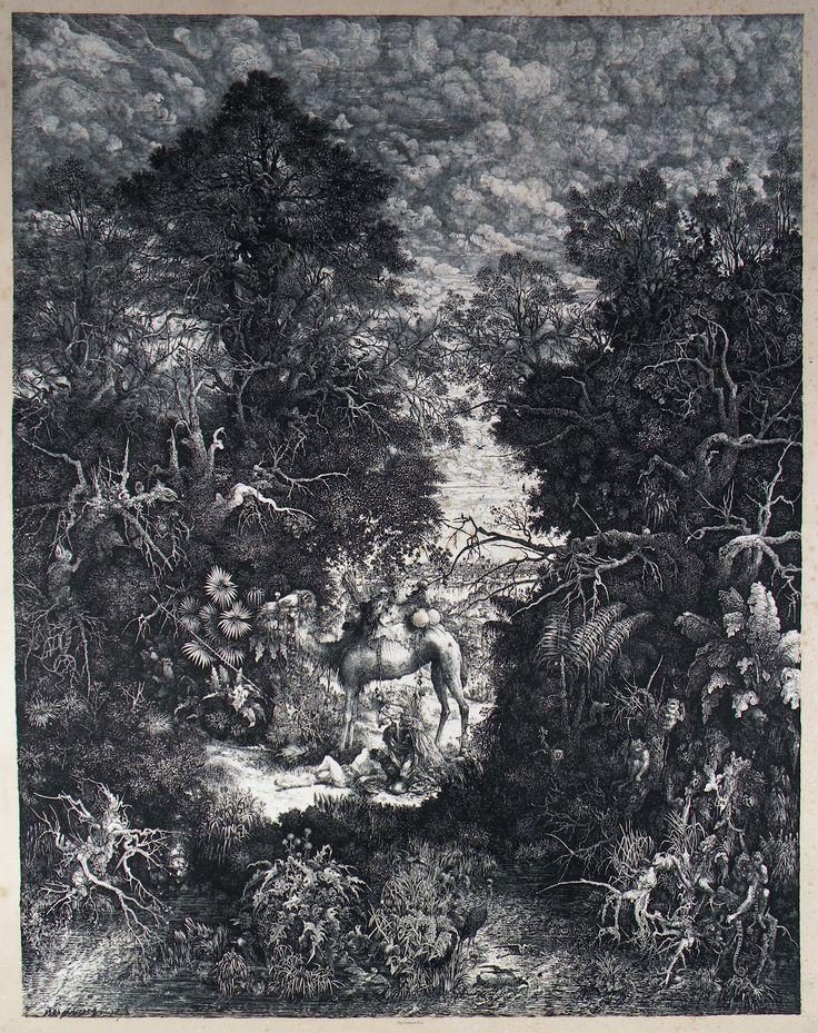 19e siècle : Rodolphe BRESDIN : Le Bon Samaritain - 1861