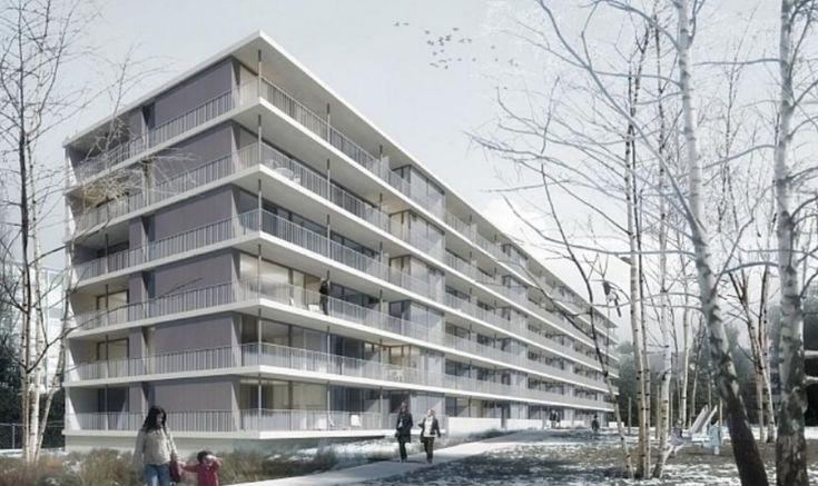 """Résultat de recherche d'images pour """"image projet nouveau immeuble avec grand balcon"""""""