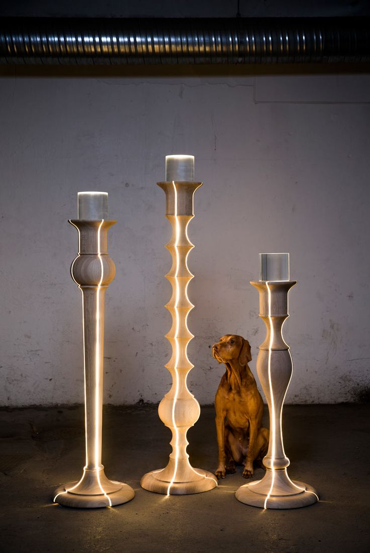Wire cone chairs moon lamp - Light Troopers By Anki Gneib