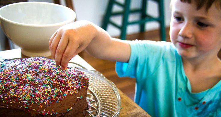 SUPER SIMPLE CHOCOLATE CAKE