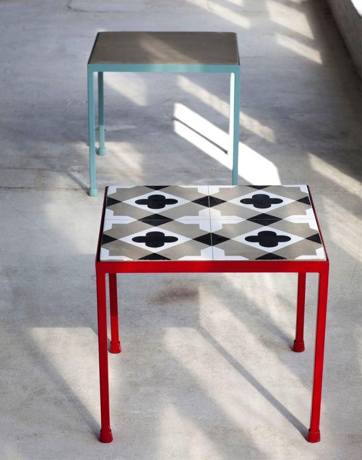 Table basse carreau de ciment Serax vendue par Home24.