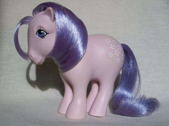 My first My Little Pony: Blossom. My Little Pony - G1 - 1983 - Collector's Pose Ponies - Blossom (CF) ~HAVE~
