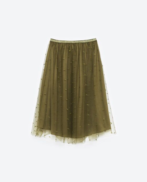 image 8 of tulle skirt from zara wear