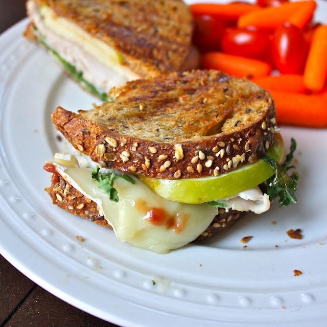 lunches apple butter paninis brie sandwich recipes mustard raspberry ...