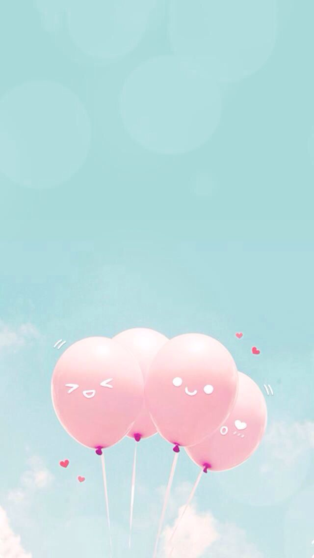 Iphone Backgrounds Wallpaper Wallpapers Pink Balloons Android Background Images