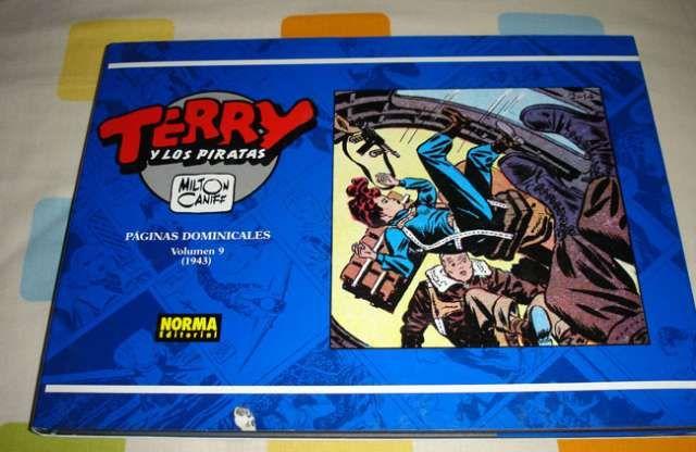 Terry y los Piratas numero 9-norma-nuevo  del editorial Norma (milton caniff) apaisanado    con pag ..  http://barcelona-city.evisos.es/terry-y-los-piratas-numero-9-norma-nuevo-id-598721