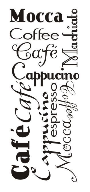 Cytaty, sentencje, napisy - Caffe, mocca... - 7 :: Naklejkolandia