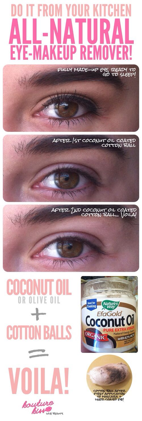 Best 25+ Coconut oil makeup remover ideas on Pinterest | Natural ...