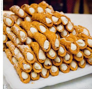 I'm just saying termini's... ;) also i always think of you when i think of cannoli's for some reason. or anything italian? don't know why!