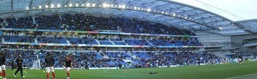 Amex Stadium  © Robert Bovington http://www.panoramio.com/user/2391258#
