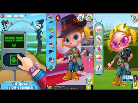 Agent Molly Pet detective Android İos Tabtale Free Game GAMEPLAY VİDEO