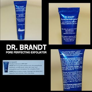 MichelaIsMyName: DR. BRANDT Pore Perfecting Exfoliator REVIEW
