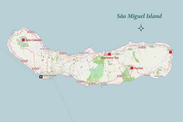Explore the largest island in the Azores: San Miguel: San Miguel Island Map and Travel Guide | Azores