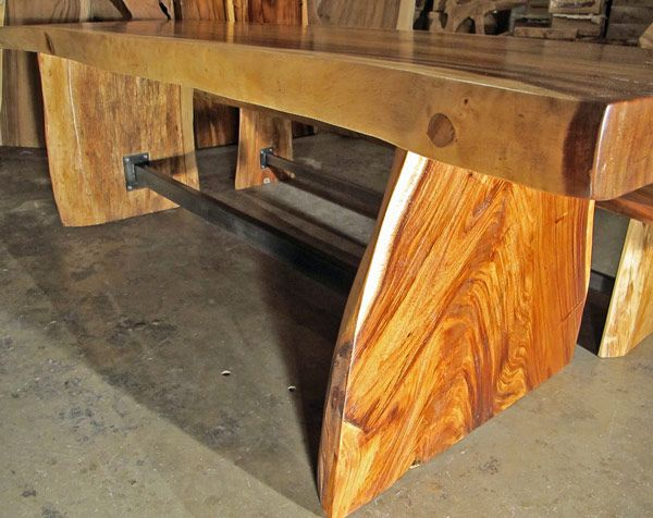 Natural Edge Timber Dining Table: 43 Best Images About Natural Edge Furniture On Pinterest
