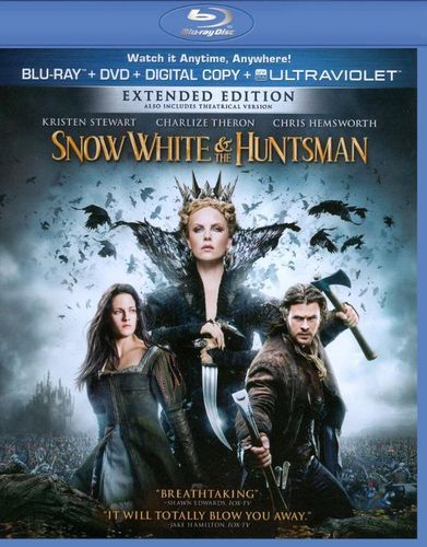 Snow White and the Huntsman [2 Discs] [Blu-ray/DVD] [2012]