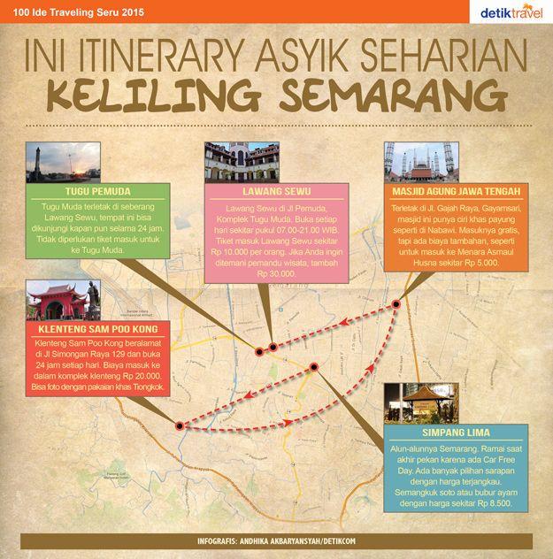 detikTravel   Rute Asyik Seharian Keliling Semarang
