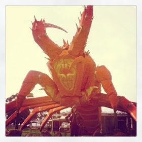 'CRAFT FOR MISFITS!: another gorgeous trip to robe ...' quoted by blogger • larry the giant lobster • Kingston South Australia • aussie big things