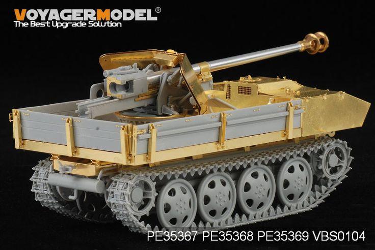 Maquette -  Set de photodécoupe German 75mm PaK 40/4 auf Steyr RSO basic - VOYAGERMODEL PE35367