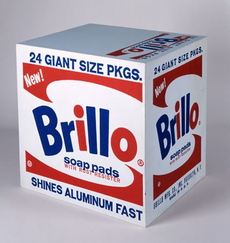 Andy Warhol, Brillo Soap Pads Box, 1964