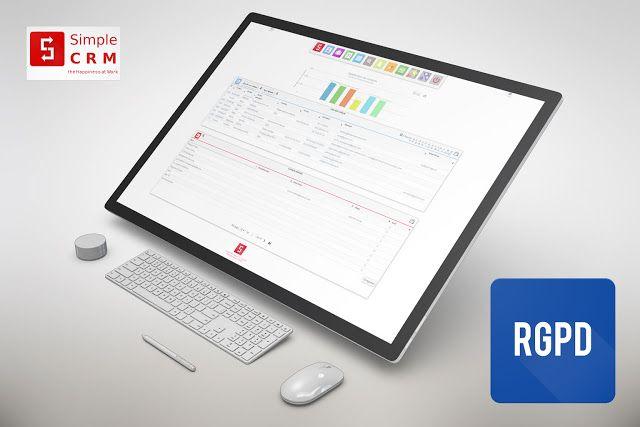 Mise à jour SIMPLE CRM 7.0 : nouvelle interface graphique, gestion du RGPD, espace Simple Studio et bien plus encore !  http://www.simple-crm-actualite.com/2018/02/mise-jour-simple-crm-70-nouvelle.html