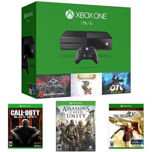 Xbox One 1TB Console – 3 Games Holiday Bundle + Call of Duty: Black Ops III + Assassin's Creed Unity + Final Fantasy Type-0 HD  http://gamegearbuzz.com/xbox-one-1tb-console-3-games-holiday-bundle-call-of-duty-black-ops-iii-assassins-creed-unity-final-fantasy-type-0-hd/
