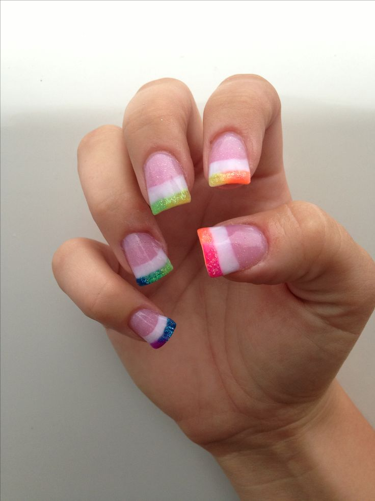 1000 ideas about bright acrylic nails on pinterest for Acrylic nails salon