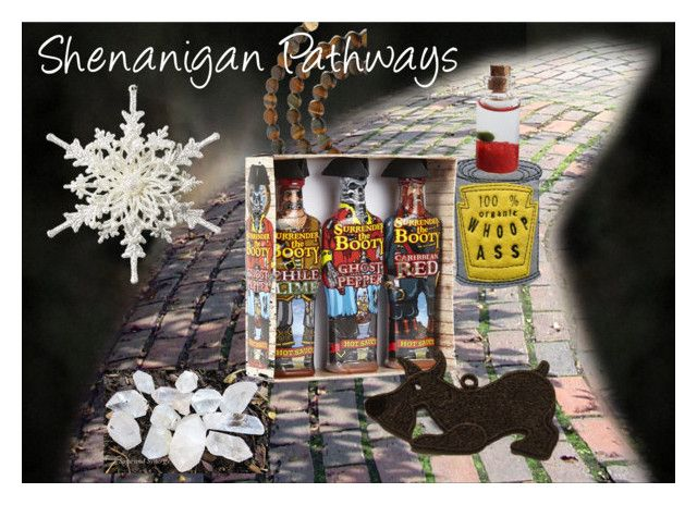 Shenanigan Pathway Reveal #3 by chilirose-creative on Polyvore featuring art