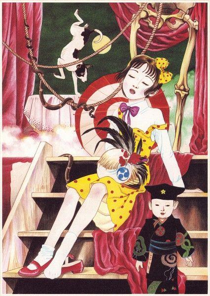Suehiro Maruo 少女椿