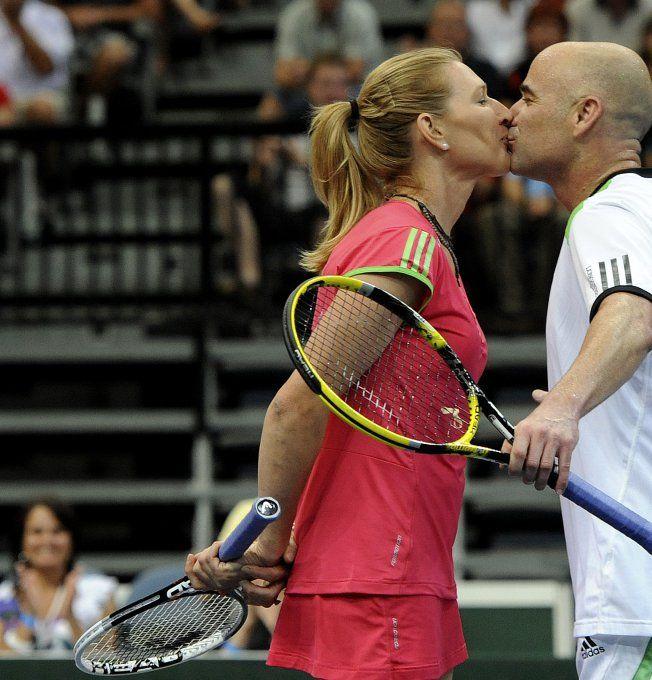Steffi Graf et André Agassi