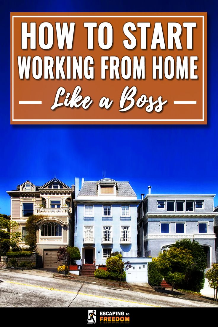Working from home is AWESOME, but it can be difficult to make it work. This article has lots of tips to make it work for you! Check it out!