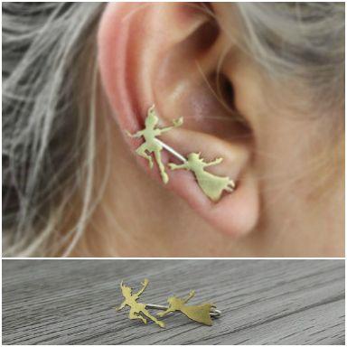 Peter Pan Earrings                                                                                                                                                                                 More