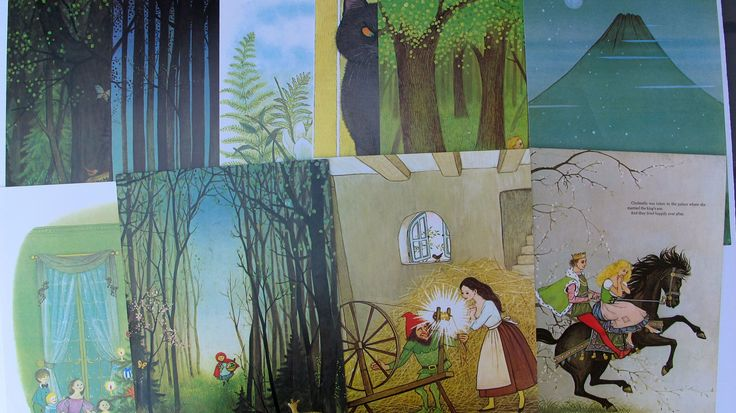 Fairy Tale vintage fairy tale book illustrations, fairy tale nursary wall art, Grimm's Fairy Tale vintage fairy tale art by BurkeSevenVintage on Etsy https://www.etsy.com/ca/listing/554850933/fairy-tale-vintage-fairy-tale-book
