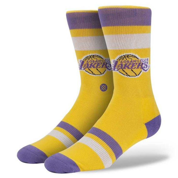 #FashionVault #stance #Men #Accessories - Check this : Stance Lakers NBA Hardwood Socks for $ USD