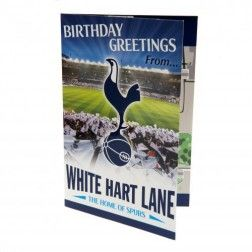 Tottenham Hotspur FC Pop-Up Birthday Card