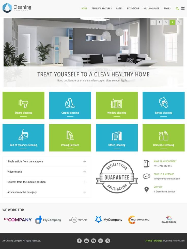 355 best premium joomla templates images on pinterest joomla jm cleaning company joomla services based template wajeb Choice Image