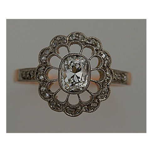 I like the more intricate style of vintage rings