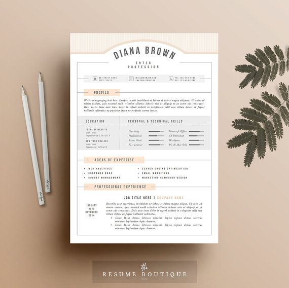 Resume Cv Template Updated Template Good Resume Format Minimal Style