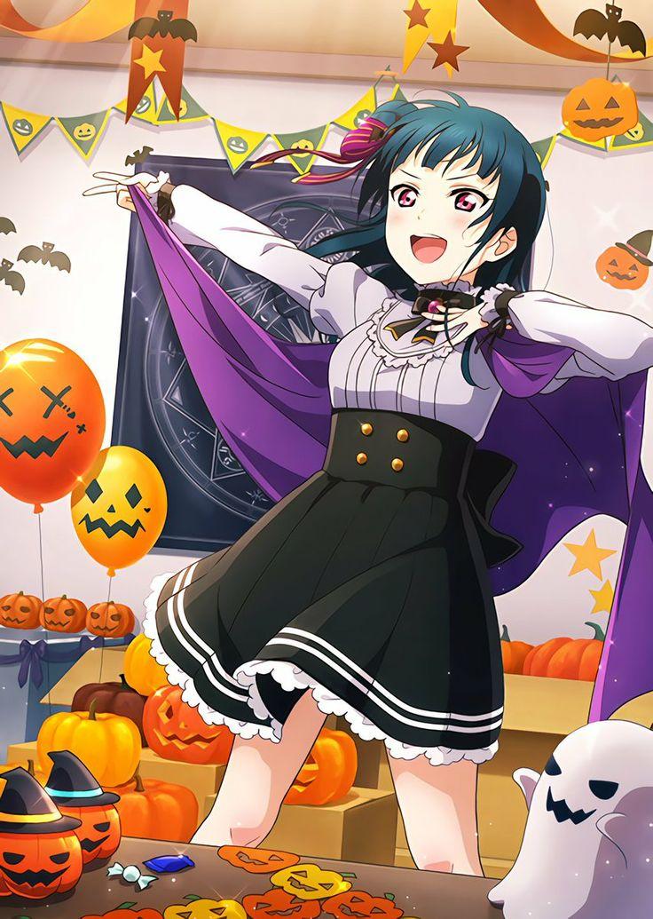 [UR] Yoshiko Unidolized - Halloween (Cool)