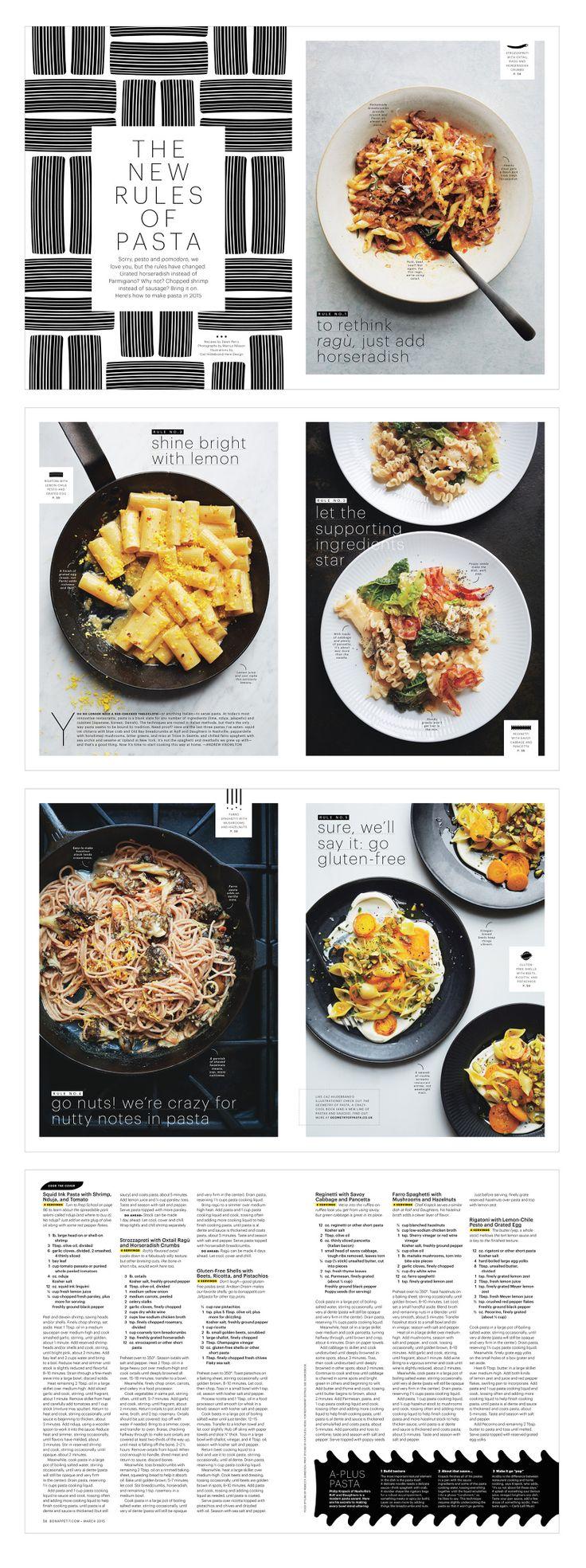 """""""New Rules of Pasta"""" (via Alaina Sullivan)."""