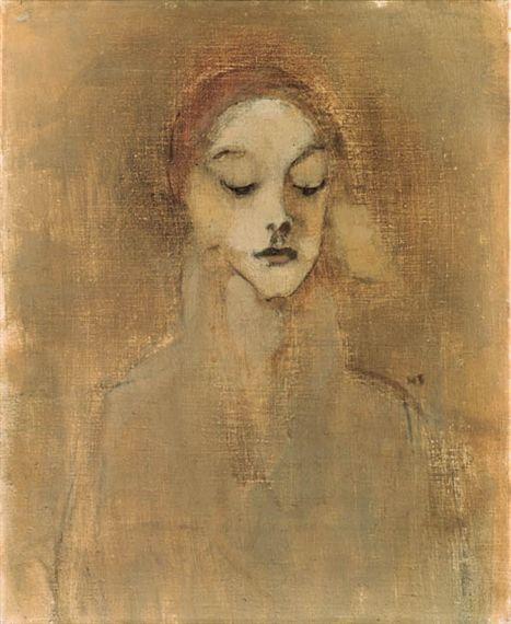 The gatekeeper's daughter - Helene Schjerfbeck