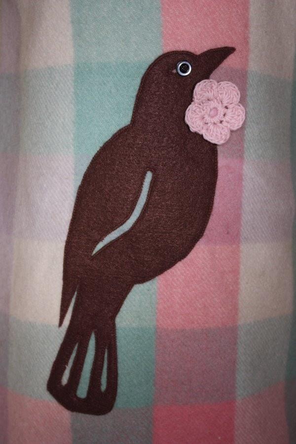 NZ Wool Blanket Tui