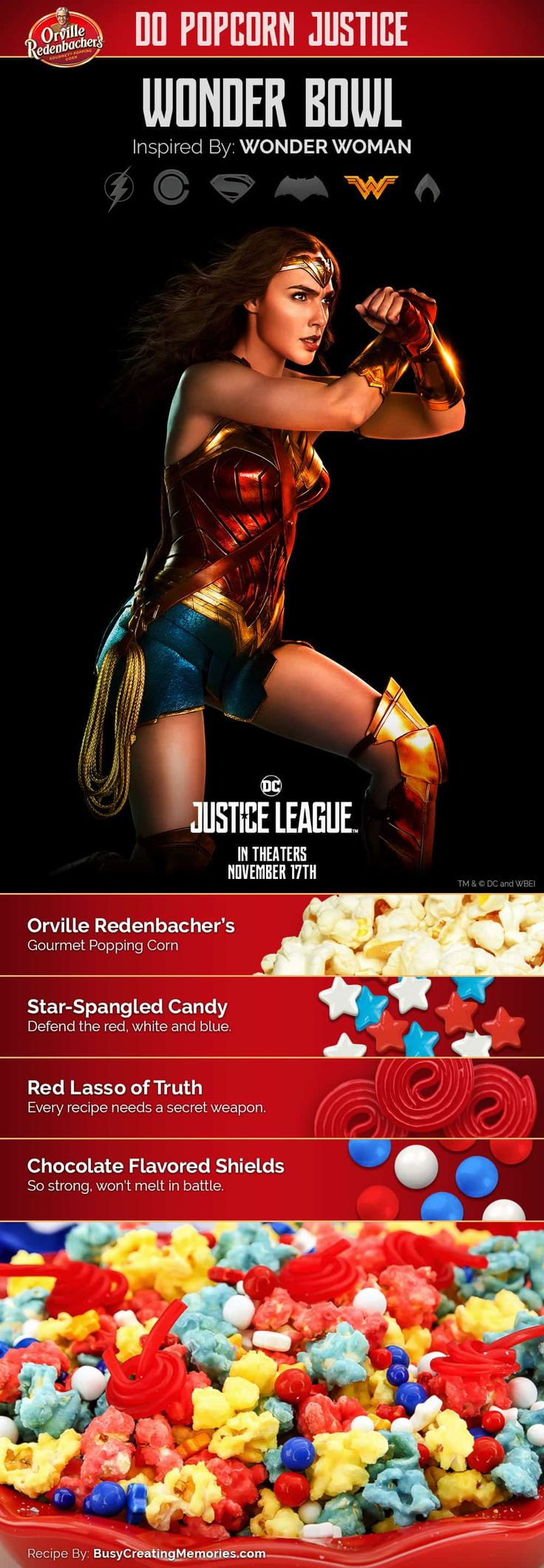 #orvillepopcornjusticesweepstakes