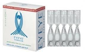 EYEYE HYDRACLAIR 20×0,35ml - 10.00€ - Λιπαντικές οφθαλμικές σταγόνες με προβιταμίνη Β5, για τη θεραπεία, καταπράϋνση ή ρύθμιση της ξηροφθαλμίας, με απλό και αποτελεσματικό τρόπο. Σε συσκευασία αμπούλας για πιο εύχρηστη χρήση.