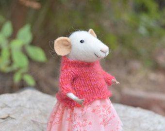 Little Sweety Mouse - Felting Dreams
