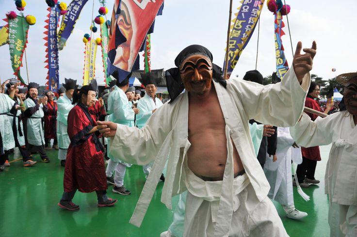 탈춤축제장_시민화합한마당(2014. 10. 1.)
