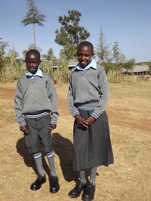 Keňa, Molo  žiaci základnej školy Kapsorok