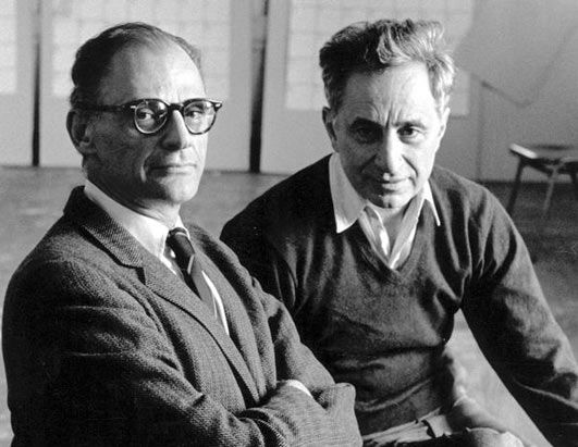 The criticism of the American Dream, which lies at the heart of ALL MY SONS, was one reason why Arthur Miller (and the show's director Elia Kazan) was called to appear before the House Un-American Activities Committee during the 1950s, when America was gripped by anti-communist hysteria...unfortunately Miller & Kazan's relationship was destroyed when Kazan gave names of suspected Communists to the Committee during the Red Scare. ALL MY SONS, Apr 8-24, 2016 at Raven Theater Healdsburg.